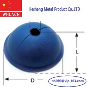 Construction Hardware Lifitng /Fixing Rubber Recess Formers (Round Type 1.3T) pictures & photos