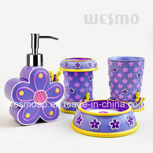 Kid Polyresin Bathroom Set (WBP1079A) pictures & photos