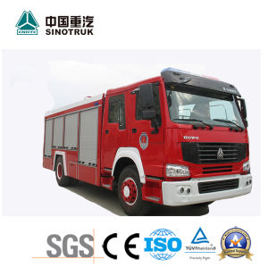 Best Price HOWO Fire Truck of 8m3 pictures & photos