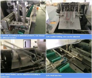 Bottle Ointment Automatic Carton Box Packing Machine pictures & photos