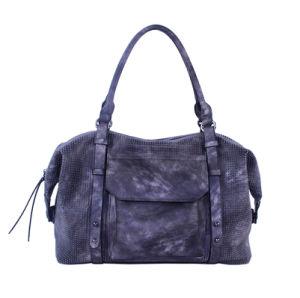 New Arrival Ladies Two-Tone PU Bowling Bag Shoulder Handbag pictures & photos