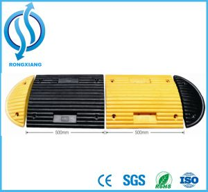 500*400*50mm High Quality Rubber Speed Hump pictures & photos
