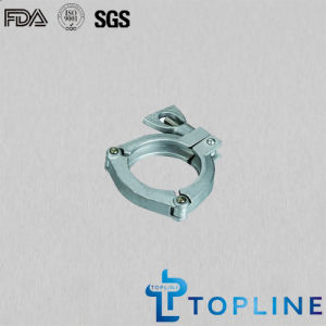 Sanitary Stainless Steel Three Pieces Clamp pictures & photos