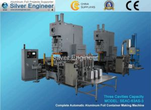 Aluminium Foil Container Making Machine From Silverengineer pictures & photos