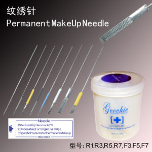 Hot Sale Permanent Makeup Eyebrow Tattoo Needles pictures & photos
