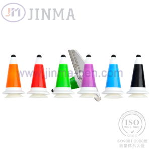The Promotion Gifts Plastic Ball Pen Jm-6014 with One Cellphone Stand pictures & photos