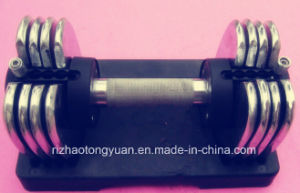 New Style Chromed Adjustable Dumbbell pictures & photos