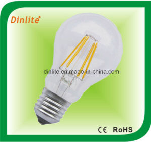 A60- 4W 6W -CE RoHS LED Filament Light Bulb pictures & photos