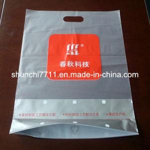 Half-Transparent Die Cut Printed Punching Plastic Bag pictures & photos