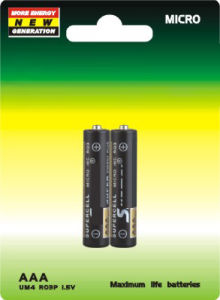R03 AAA Carbon Battery Um4 pictures & photos