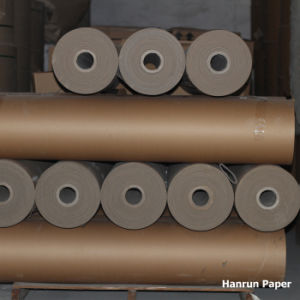 Brown Kraft Paper 30GSM Sublimation Tissue Paper Roll for Textile pictures & photos