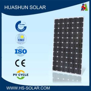 Huashun 160-180W 125X125 Monocrystalline Solar Module (SH-180S5-22)