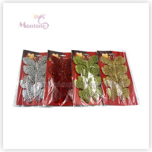 Wholesale Christmas Tree Decoration Ornament 3PCS Butterfly Christmas Decor pictures & photos