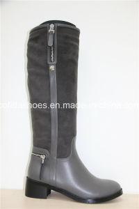 Winter Trendy Comfort Knee-High Women Boots pictures & photos