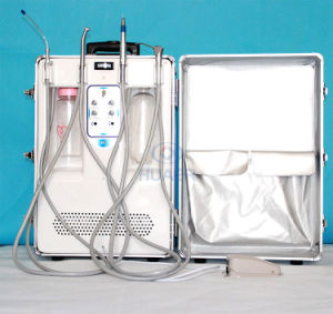 Portable Dental Unit Hr-Dp12 with Bulid in Air Compressor pictures & photos