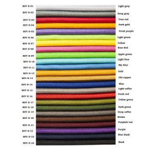 Bright Color Material Cloth Covered Lamp Cord (CE VDE UL SAA) pictures & photos