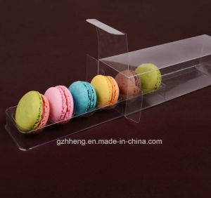 Clear Plastic Macaron Packing box (cake package) pictures & photos