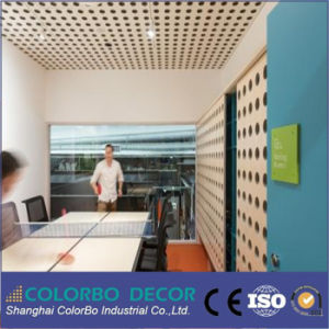 Internal Partition Walls Wooden Perforated Acoustic Wall Panels pictures & photos