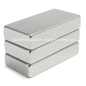 Block Shape Neodymium NdFeB Permanent Magnets pictures & photos