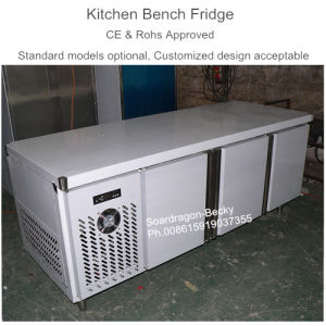 Ce Approved Kitchen Bench Fridge with Positive Temperature pictures & photos