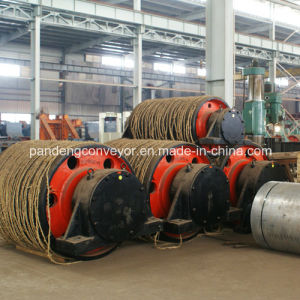Pipe Conveyor Pulley / Pipe Conveyor Drum /Rubber Pulley pictures & photos
