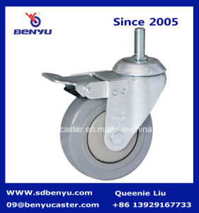 Hopital TPR Swivel Caster Wheel Quietly Running pictures & photos