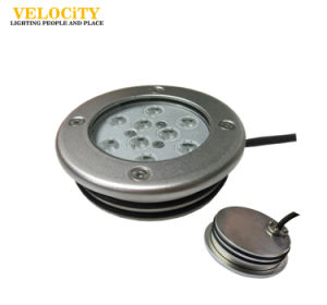 Outdoor Stainless Steel Wall Mounted LED Underwater Light RGB IP68 Fountain Pool pictures & photos