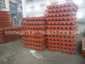 Jaw Plate in Crusher for Exporting to Global pictures & photos