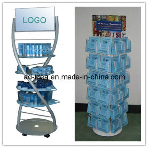 Wire Display Rack/Three Net Bag Display Stand/Banner Stand (RACK-09) pictures & photos