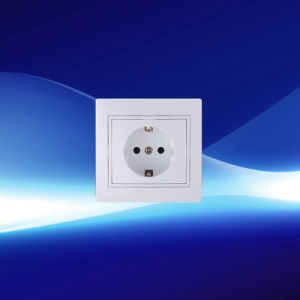 Single New Design Earthed Wall Socket