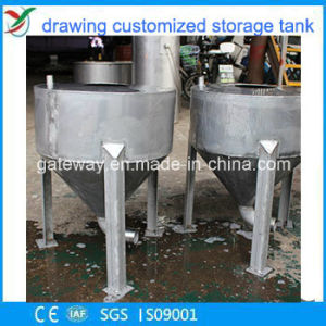 2016 Hot Sale Stainless Steel Silo for Chemical Raw Material Storage