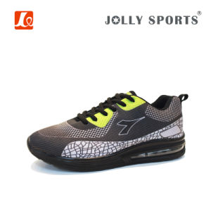 Fashion 3D Upper Sneaker Sports Running Shoes with Air Cushion pictures & photos