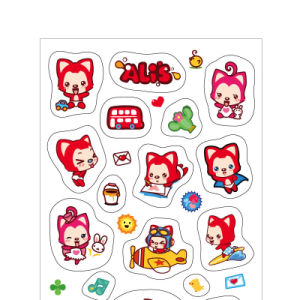 Self Adhesive Craft Paper Sticker Label for Children Toy pictures & photos