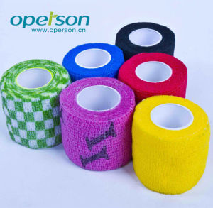 Ce Approved Self Cohesive Bandage with Various Colors pictures & photos