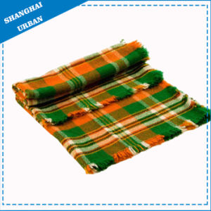 Stripe Bed Cover Fleece Wool Blanket pictures & photos