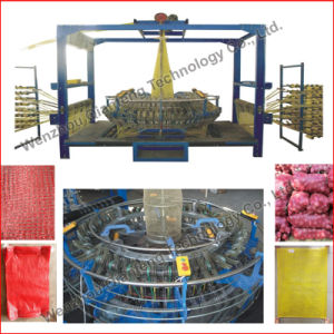 Vegetable PP Leno Mesh Bag Weaving Loom Machine pictures & photos