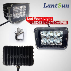 30W High Quality Car Light Spot Beam LED Work Light pictures & photos