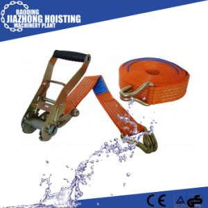 Belt Ratchet Tie Down with Buckle, China Manufacturer pictures & photos