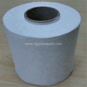 White Spunlace Nonwoven Fabric for Wipes pictures & photos