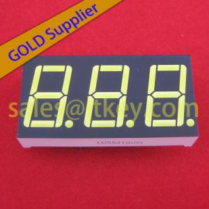 Three Digits LED 7 Segment Display pictures & photos