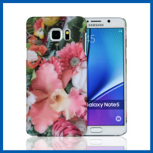 Flower Design PC Case Hard Cover for Galaxy Note 5 pictures & photos