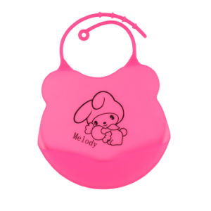2016 Safe-Easy Wash-Waterproof Silicone Baby Bibs pictures & photos