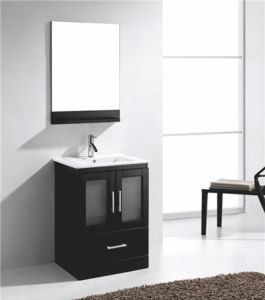 Solid Wood European Style Bathroom Vanities and Cabinets pictures & photos