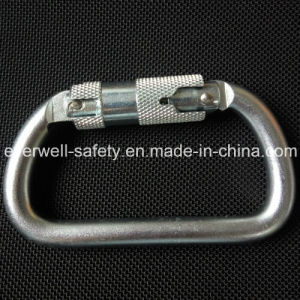 Self-Locking Safety Hook Spring Carabiner (C301-1)
