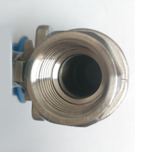 2PC Stainless Steel Male-Female Thread Ball Valve pictures & photos