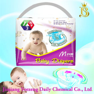 2017 Hot Sale Soft Breathable Sleeply Baby Diapers pictures & photos