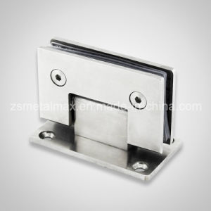 Stainless Steel Brass 90 Degree Glass Hardware Clamp Door Shower Hinge (YH204) pictures & photos