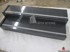 G654 Padang Dark Grey Granite Stair with Step & Riser pictures & photos