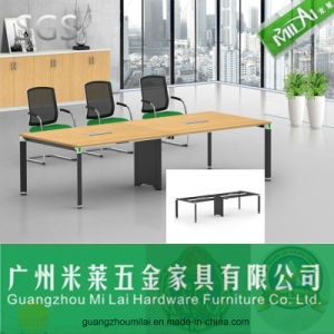 Good Quality Office Desk with Adjustable Steel Frame Table Leg pictures & photos