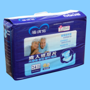Disposable Colourful M Size Adult Diaper